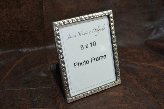 Tin Photo Frame 85 X 11 Hand Punched New Mexican Tinwork Etsy