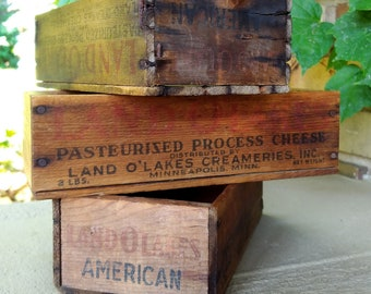 1940s wood crate   Etsy