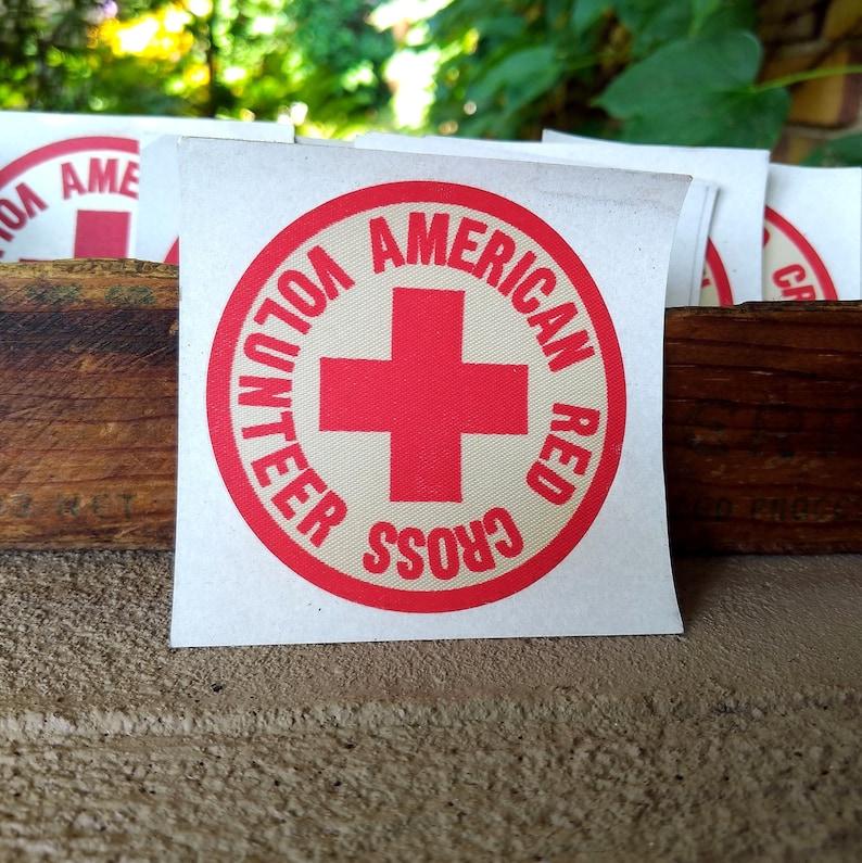 American Red Cross Volunteer Sleeve Patch