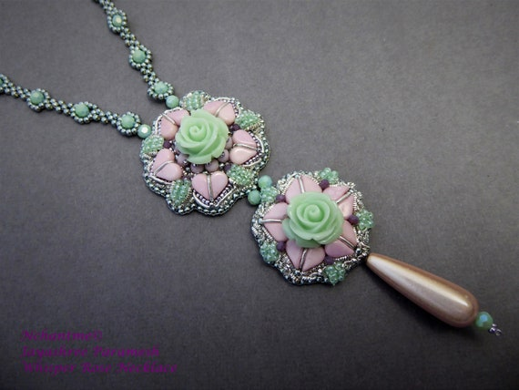 Whisper Rose Necklace Kit