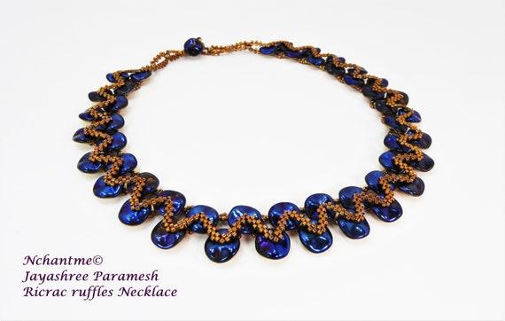 Ricrac Ruffles Necklace Kit