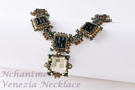 Venezia Necklace Tutorial Instant Download