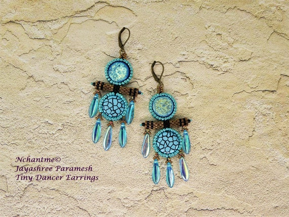 Tiny Dancer Earrings Tutorial Instant Download