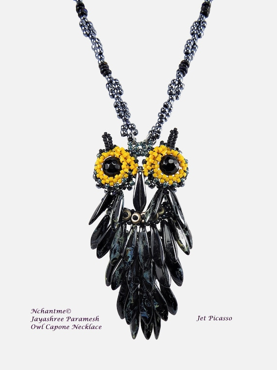 Owl Capone Necklace Kit