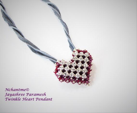 Twinkle Heart Pendant Kit