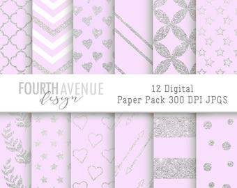 instant download printable digital scrapbook paper digital etsy