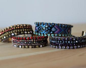 Thin Cuff Bracelets