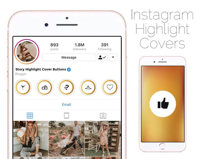 SALE! 70% OFF Instagram Story Highlight Covers