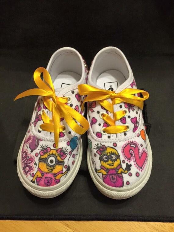 Custom designed shoes for toddler Girl