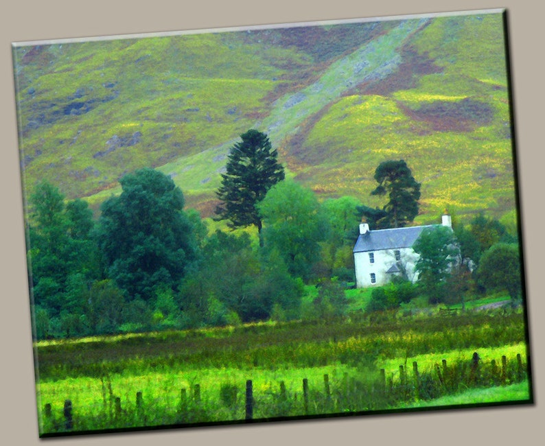 British Countryside Gallery Wrap Canvas Photo Print Fine Wall image 0