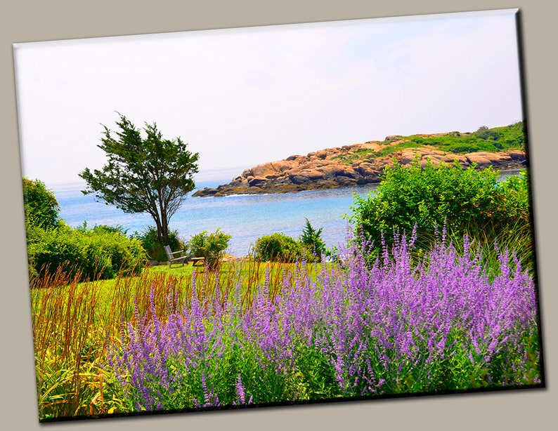 Waterfront View Gallery Wrap Canvas Photo Print Fine Wall Art image 0