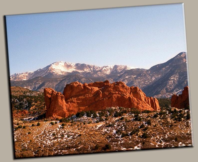 Mountain Range Gallery Wrap Canvas Photo Print Fine Wall Art image 0