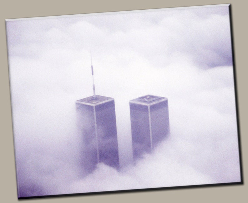Twin Towers Gallery Wrap Canvas Photo Print Fine Wall Art image 0