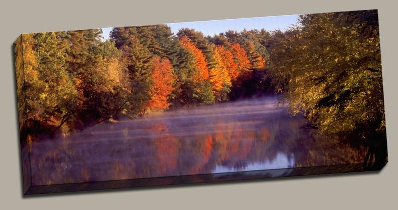 Autumn Splendor Gallery Wrap Canvas Photo Print Fine Wall Art image 0