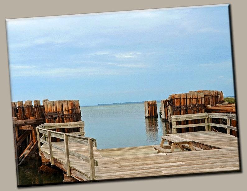 Chesapeake Bay Gallery Wrap Canvas Photo Print Fine Wall Art image 0
