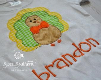 Boy Thanksgiving Shirt, Boy turkey shirt, Thanksgiving, Turkey, Thanksgiving Shirt, Turkey Shirt, Turkey applique, Thanksgiving applique