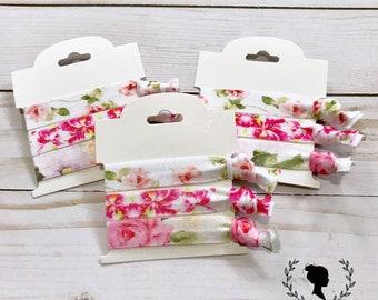 Floral Hair Tie Set