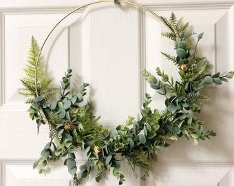 Modern Wreath | Etsy
