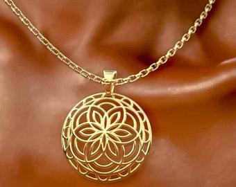 Flower Of Life Sigil Charm Pendant