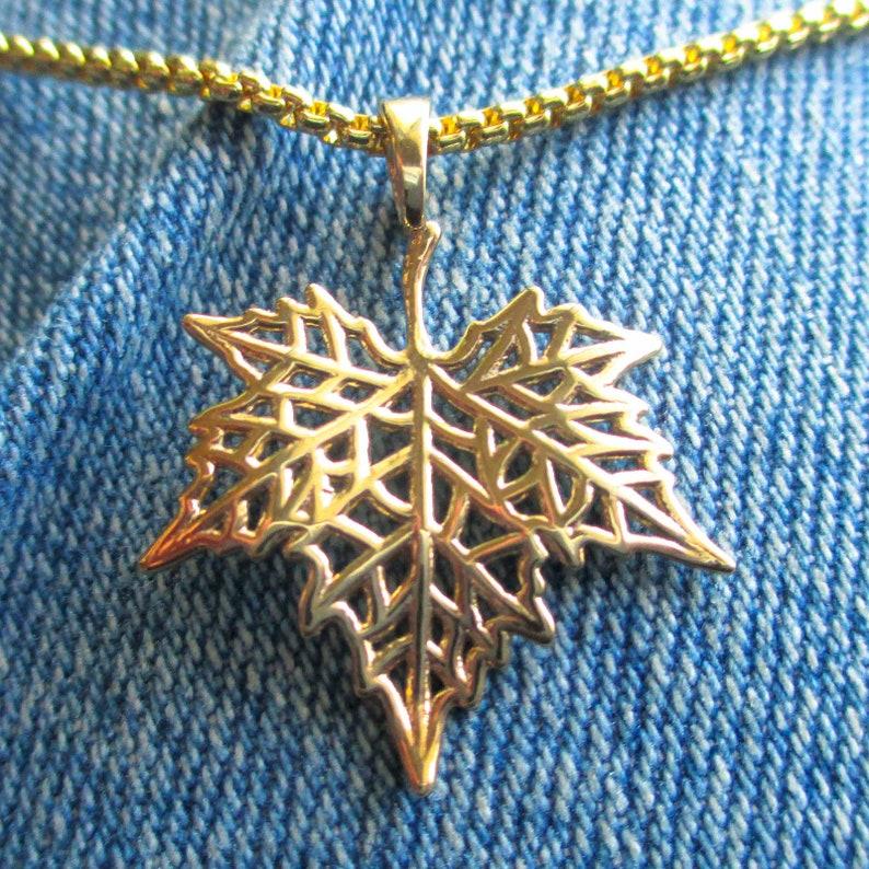 Maple Leaf Pendant image 0