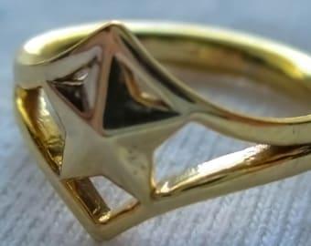Tiara Inspired Ring