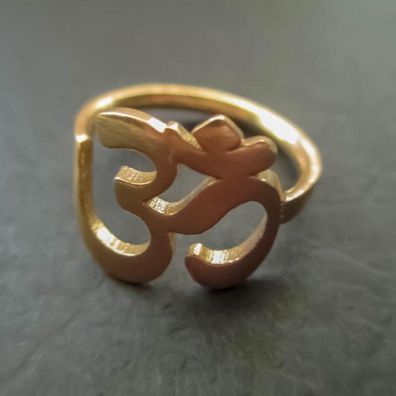 Hindu Om Ring image 0