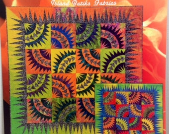 "SOLAR FLARES Foundation Paper Pieced Quilt Pattern by Judy Niemeyer 72/"" x 72/"""