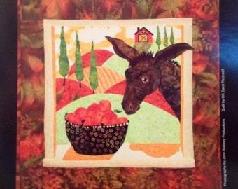 New GONDOLA RIDE Art Quilt Pattern by Debi Hubbs//Bigfork Bay-Italy series