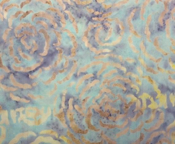 Creole Pink Per 1//2 Yard Batavian Batiks RAINDROPS 100/% Prem Batik Fabric