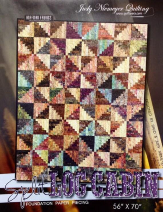 "Judy Niemeyer CRACKERS Foundation Paper Pieced Quilt Pattern 30/"" x 48/"""