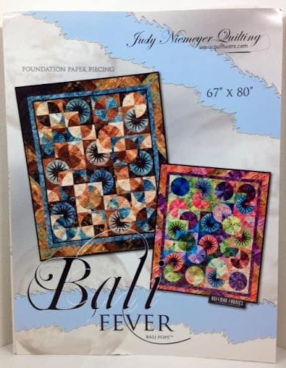 Judy Niemeyer Split Log Cabin  Foundation Paper Pieced Quilt Pattern