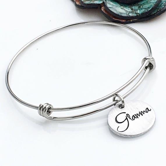 Gram Bangle Bracelet Gift for Grandma or Grammy