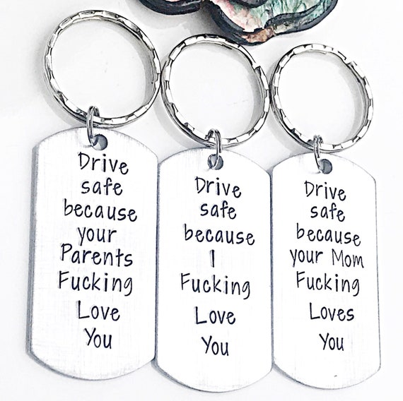 Keep Fucking Going Keychain Gifts for Son//Daughter//Boy//Girl//Her//Him