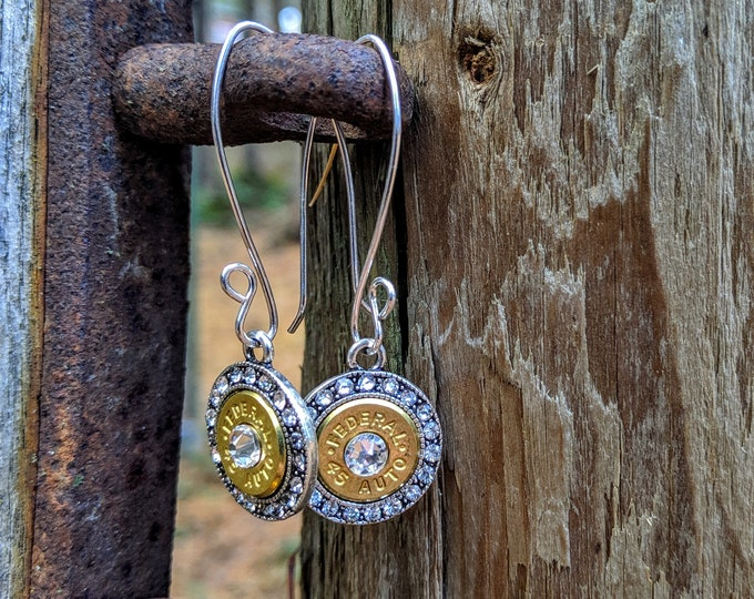 Badass Babe Rhinstone Cowgirl Earrings