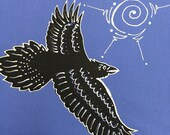 Flying Raven Quilt Block...