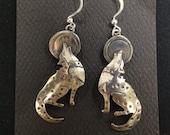 Howling Wolves earrings...