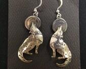 Howling Wolves earrings