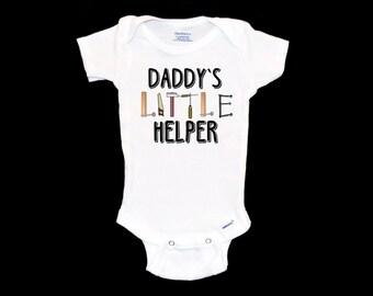 c5ba76dbe Daddy's Little Helper Onsie - Tool Onesie, Father's Day Gift, Infant  Handyman Bodysuit, Baby Outfit, Newborn Baby Boy Gift, Onezie