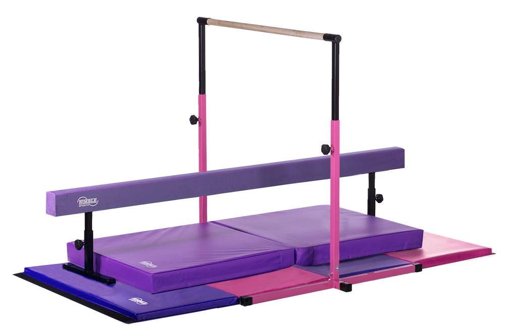 Rose Violet Petit 233 Quipement De Gymnastique Deluxe Set Etsy