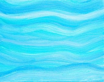 Printable Art, Instant Download, Wall Art, Blue,Aqua, Painting, Art Print, Painted Computer Screensaver Smartphone Wallpaper Invitations