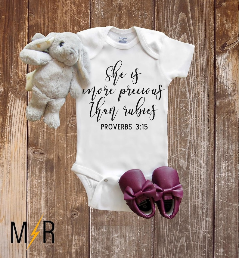 ce75299a5 Pregnancy Announcement Onesie® IVF Onesie® She is more | Etsy