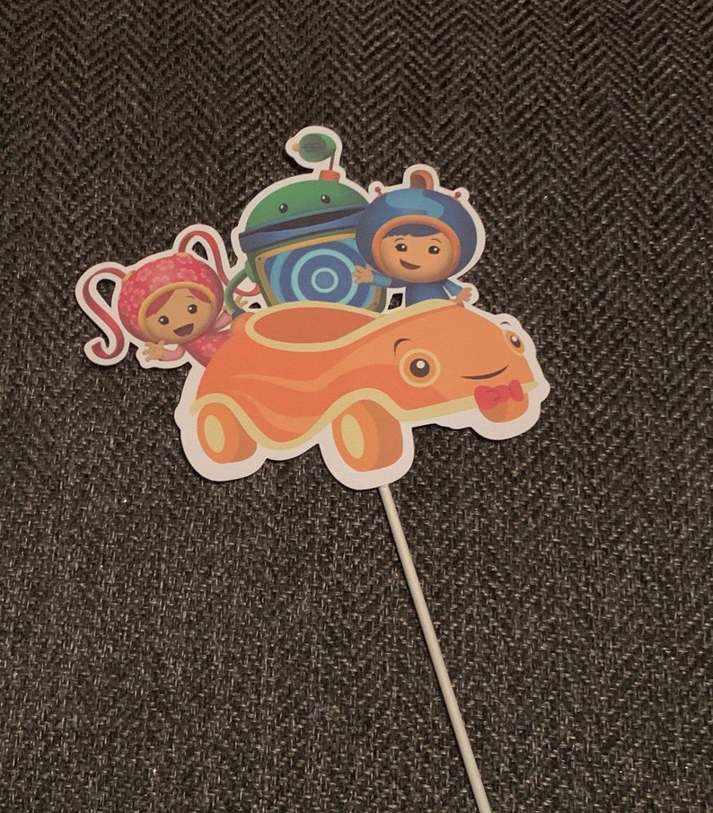 Tremendous Team Umizoomi Cake Topper Team Umizoomi Centerpiece Cut Outs Etsy Personalised Birthday Cards Epsylily Jamesorg