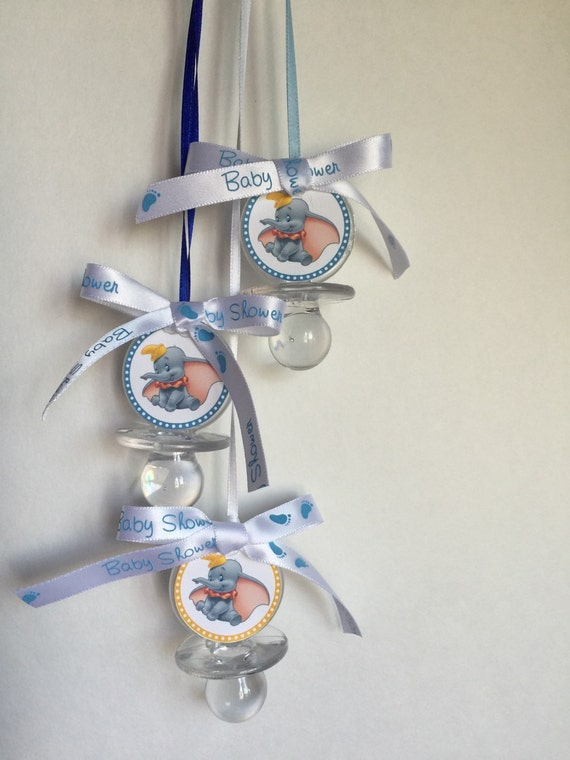 Dumbo Baby Shower Pacifier Favors Set of 12 Clear Baby | Etsy