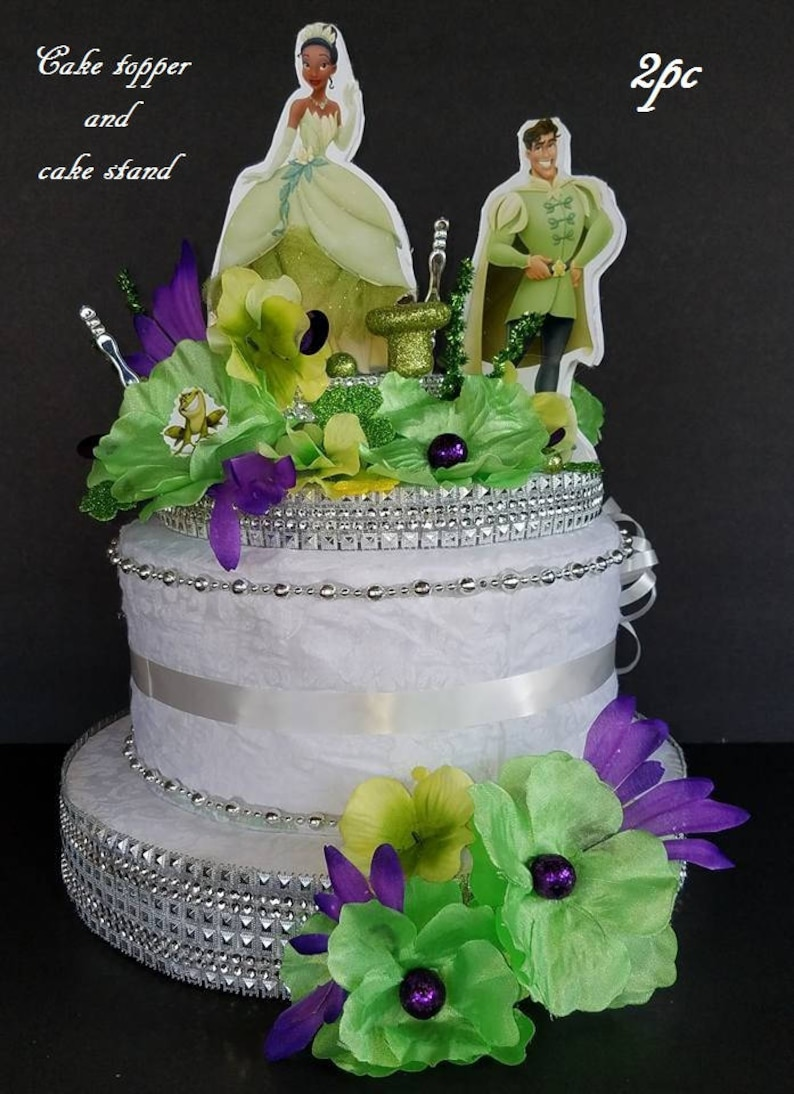 INSPIRED 2pc Disney 1pc Princess And The Frog Tiana