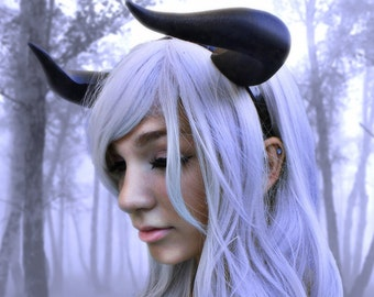 NEW ARRIVAL  Bull Matador horns headband 3D printed cosplay comicon fantasy horns   wow