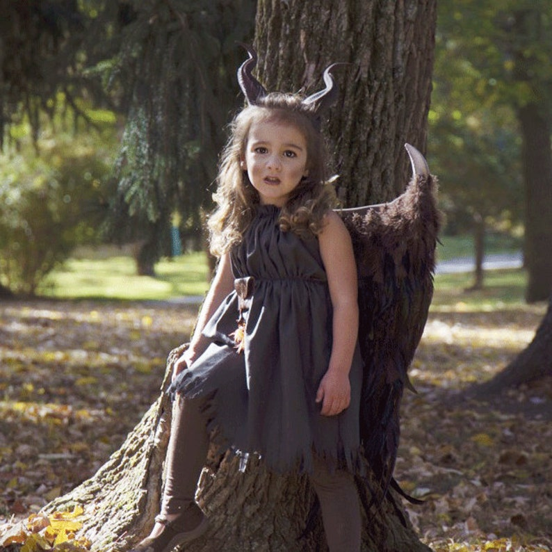 ded4ecb1ed2 Choose your Options Young Maleficent Inspired costume Wings