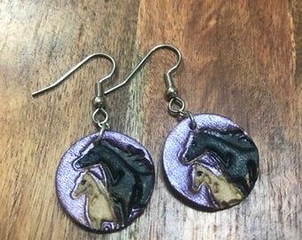 Mare & Foal Earring