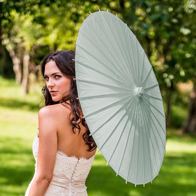 Paraplu voor als het regent op je bruiloft