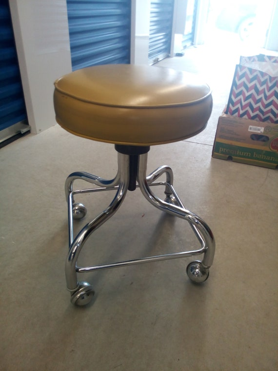 Pleasant Vintage 1970S Pedigo Medical Examination Adjustable Stool By Coronet For Abco Gamerscity Chair Design For Home Gamerscityorg