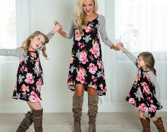 6f1532c14f Mommy and Me floral dresses